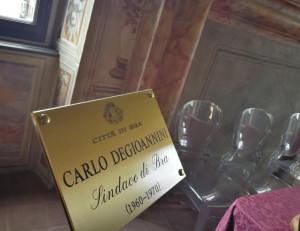Bra: intitolata una sala all'ex sindaco Degioannini a Palazzo Mathis