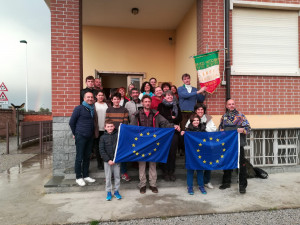 Arrivati a San Benigno i partecipanti al 'Cammino della Pianurizzazione'