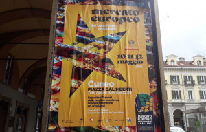 A Cuneo dal 10 al 12 maggio torna il Mercato Europeo