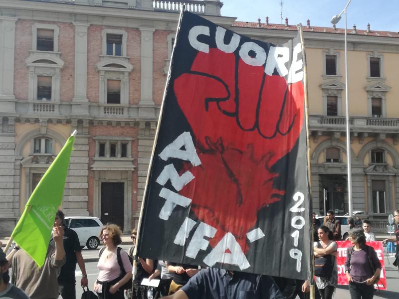 Corteo degli anarchici: 'Il servizio di sicurezza è stato un successo'