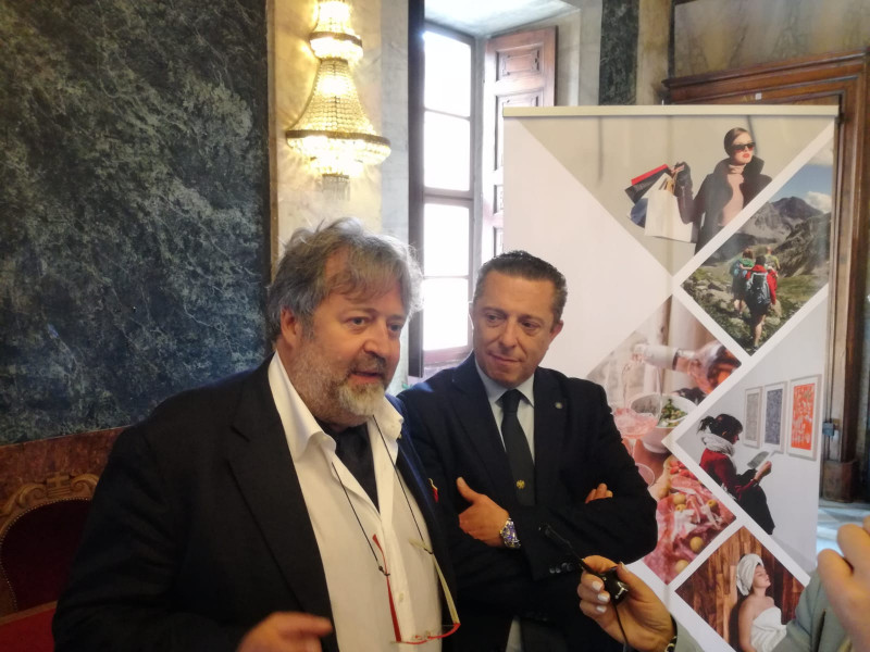 Presentata stamane 'We Cuneo', l'evoluzione del Porticone per il rilancio del turismo