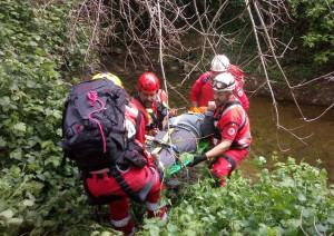 Busca: la Croce Rossa impegnata nella ricerca di un disperso, ma è solo un'esercitazione