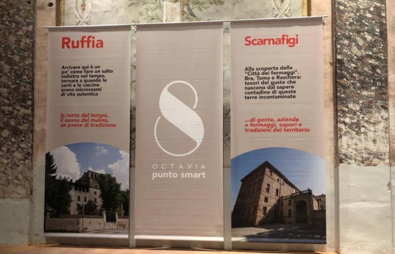 Domenica 19 maggio a Scarnafigi si inaugura il Punto Octavia