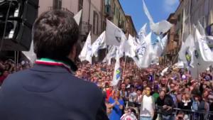 'Gli unici fascisti rimasti in Italia sono a sinistra'