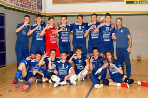 Pallavolo: il Cuneo di Peron e Cavallera promosso in Serie C
