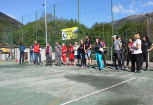 Giornata all'insegna dello sport per gli studenti delle scuole di Sampeyre