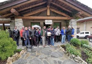 La pioggia ha (parzialmente) 'guastato' il memorial 'Diego Massa' a Vignolo