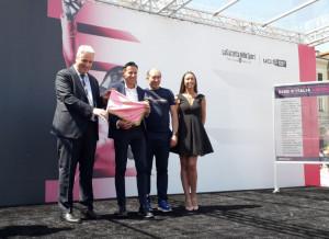 Il sindaco di Cuneo, Federico Borgna: 'Presentiamo al Giro d'Italia una cartolina pazzesca della nostra provincia'