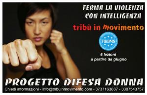 Al Centro Fitness 'Tribù in Movimento' il progetto 'Difesa Donna'