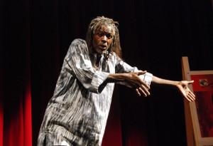 Domenica 2 giugno l'artista senegalese Mohamed Ba a Borgo San Dalmazzo
