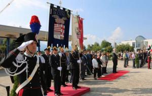 Festa della Repubblica, il gonfalone della Provincia alla cerimonia del 2 giugno