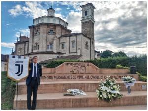 Cherasco ricorda le vittime della strage dell'Heysel
