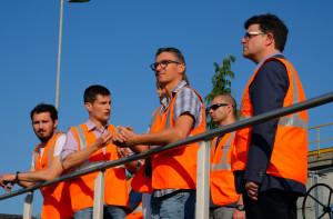 I consiglieri comunali 'in trasferta' all'impianto di depurazione dell'ACDA (FOTOGALLERY)