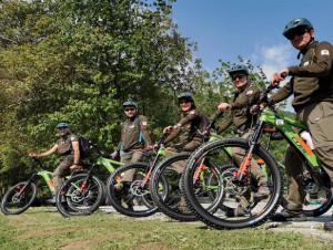 E-bike per i guardiaparco delle Marittime per ridurre le emissioni