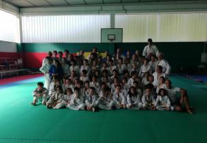 In 200 al campo dell'Asd Judo Buzzi Unicem di Robilante