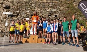 In 400 alla partenza del 'Giro delle borgate di Melle'