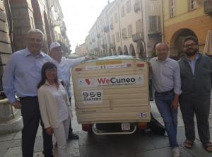 Da Cuneo a Capo Nord a bordo di un'Ape 50 camperizzata