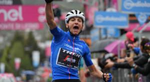 Ciclismo, allenamenti in valle Stura per Giulio Ciccone della Trek Segafredo