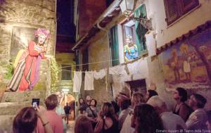 'Le 9 Lune': spettacoli itineranti nei cortili del centro storico di Cuneo nelle sere dell'Illuminata