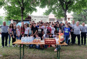 Giovani in visita nella sede di Cuneo della Protezione Civile con 'Progetto Scuole'