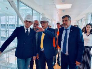 Cirio all'ospedale di Verduno: 'Lo apriremo nel primo semestre del 2020 e chiederemo scusa ai cittadini