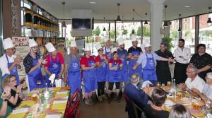 La 'Cena speciale' organizzata dal Cdvm al Baladin ha fruttato mille euro