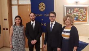 Al Rotary Club di Cuneo consegnati i riconoscimenti in ricordo dell'ingegnere Fabrizio Corino