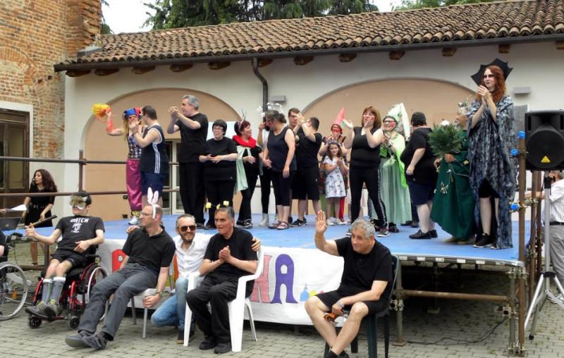 Il centro diurno 'Rosaspina' di Sommariva Bosco ha compiuto dieci anni