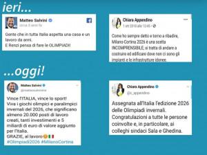 Olimpiadi 2026 a Milano-Cortina, Chiara Gribaudo 'punge' Salvini e la Appendino