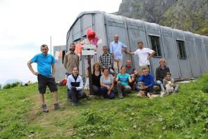 Al Bivacco Rousset una giornata ecologica 'speciale' in memoria di 'Macio' Dalmasso