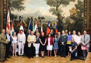 'Fausto Coppi', ricevute in Comune le delegazioni di Olanda, Danimarca, Ungheria, Austria, Cile e Slovacchia