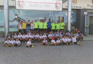 Più di 50 bambini allo stage estivo del Busca Calcio