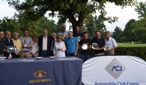 Ottanta appassionati golfisti a Cherasco alla ventottesima edizione di Aci Golf