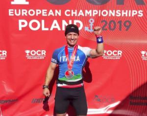 Campionati Europei OCR: il buschese Bruno Manca tra i migliori d'Europa