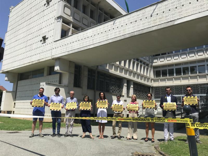 L'ex Tribunale di Saluzzo è un 'simbolo del degrado'