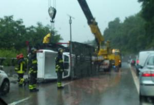 Incidente sulla Torino-Savona, lunghe code nella zona di Ceva