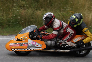 Buona partecipazione alla tredicesima edizione della 'Moto Storiche in Salita Valgrana-Montemale'