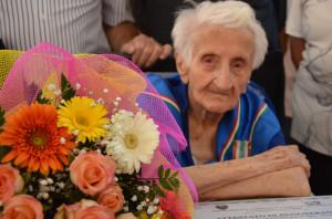 Costigliole Saluzzo, festa grande per i 100 anni di Anna Vassallo