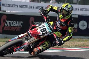Supermoto, bellissima vittoria a Latina per Kevin Negri del Moto Club Drivers Cuneo