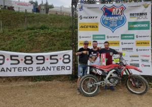 Motocross, Fabrizio Fissolo terzo a Paroldo