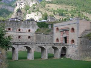A Vinadio si inaugurano i lavori di restauro del Rivellino del Forte Albertino