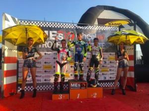 Motori: Arianna Barale prima in campionato
