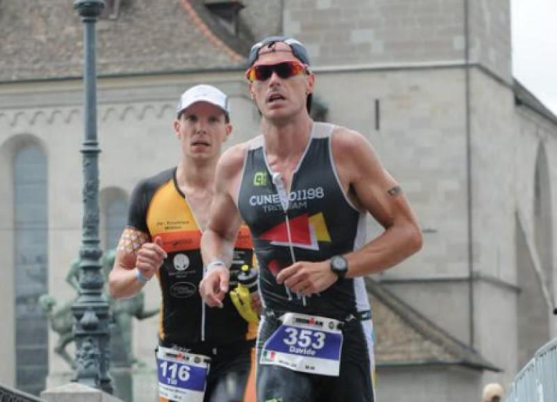 Il cuneese Davide Viale primo tra gli italiani all'Ironman di Zurigo