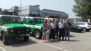 Il Piemonte invia tre fuoristrada alla Sardegna per la lotta agli incendi boschivi