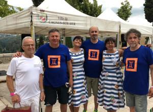 Gemellaggio tra l'Associazione Bocce Quadre Mondovì e il Cercle des Amis di Cagnes-Sur-Mer