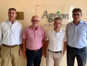 L'assessore regionale Marco Protopapa in visita alla Fondazione Agrion