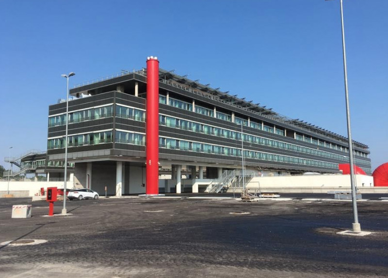 Sopralluogo dell'Amministrazione comunale braidese al nuovo ospedale di Verduno