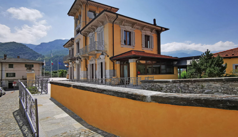 Nuovo ingresso per disabili a Villa Bianco, sede del Parco Alpi Marittime a Valdieri