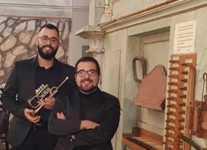 Mombasiglio, concerto di tromba e organo per la festa patronale di Sant'Amiano