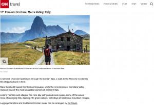 La CNN incorona la val Maira: 'Uno degli angoli più incontaminati del nord Italia'